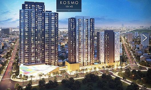 Dự án Kosmo Tây Hồ -Quy hoạch chuẩn quốc tế, hạ tầng cơ sở hiện đại
