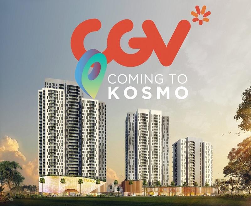 Kosmo Tây Hồ ra mắt rạp chiếu phim đầu tiên ở khu vực Hồ Tây