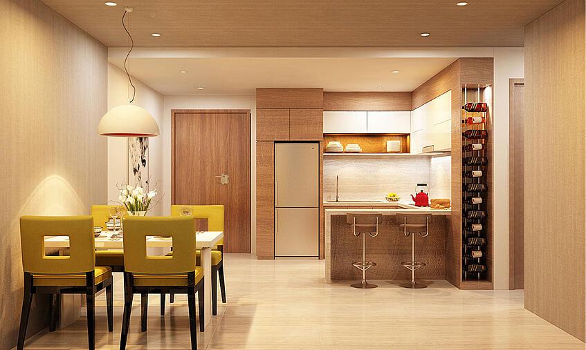 Mua chung cư, hướng nhà là hướng cửa ra vào hay hướng ban công?