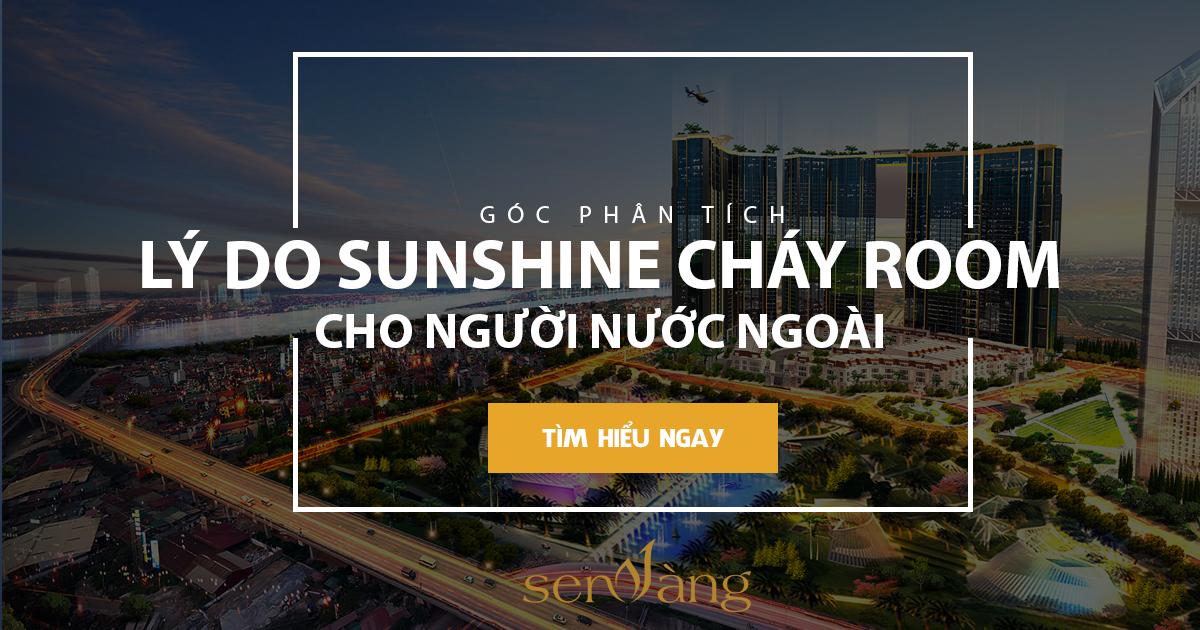 Lý do Sunshine City đã hết room cho người nước ngoài là gì?