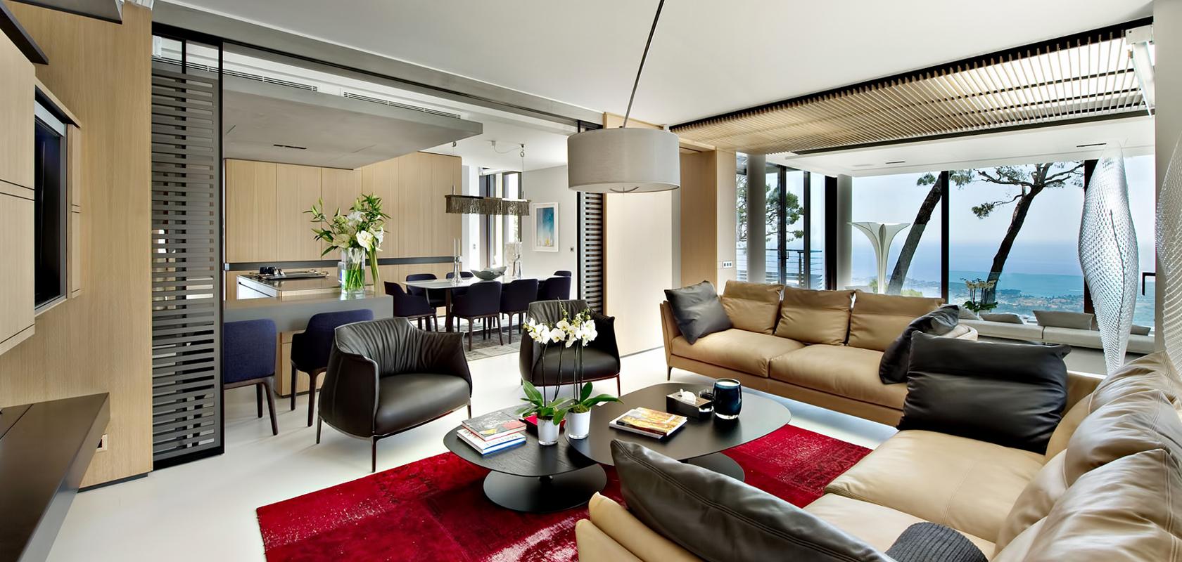 Thiết kế nội thất phòng khách theo phong cách Châu Âu