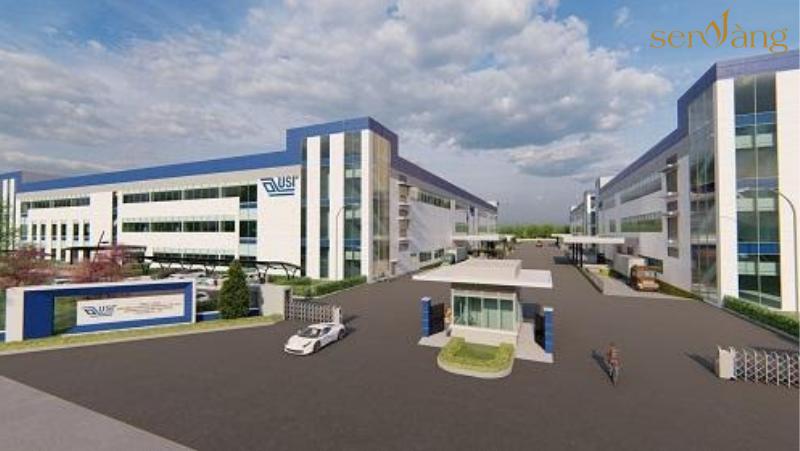 Dự án Nhà máy sản xuất của USI tại Việt Nam (Trung Quốc), vốn đầu tư 200 triệu USD với mục tiêu sản xuất bản mạch điện tử thiết bị đeo được tại Hải Phòng