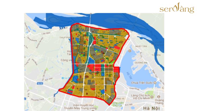 Bản đồ quy hoạch phân khu A6