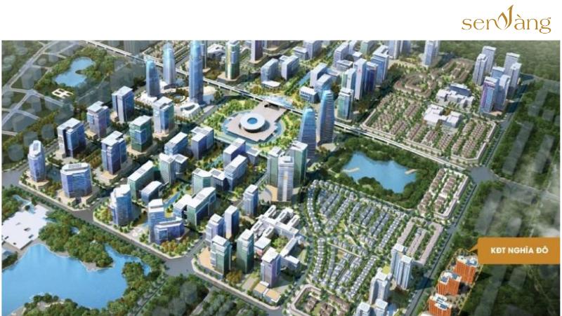 Quy hoạch Khu đô thị Tây Hồ Tây trong tương lai