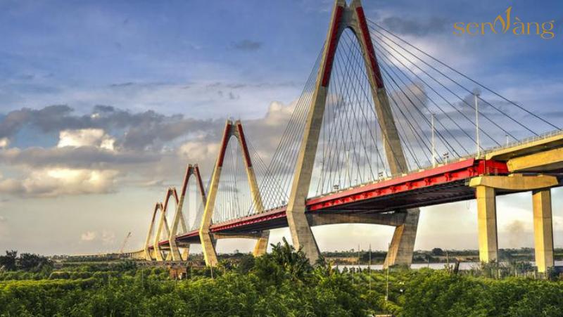 Cầu Nhật Tân cửa ngõ phía Bắc Thủ Đô Hà Nội