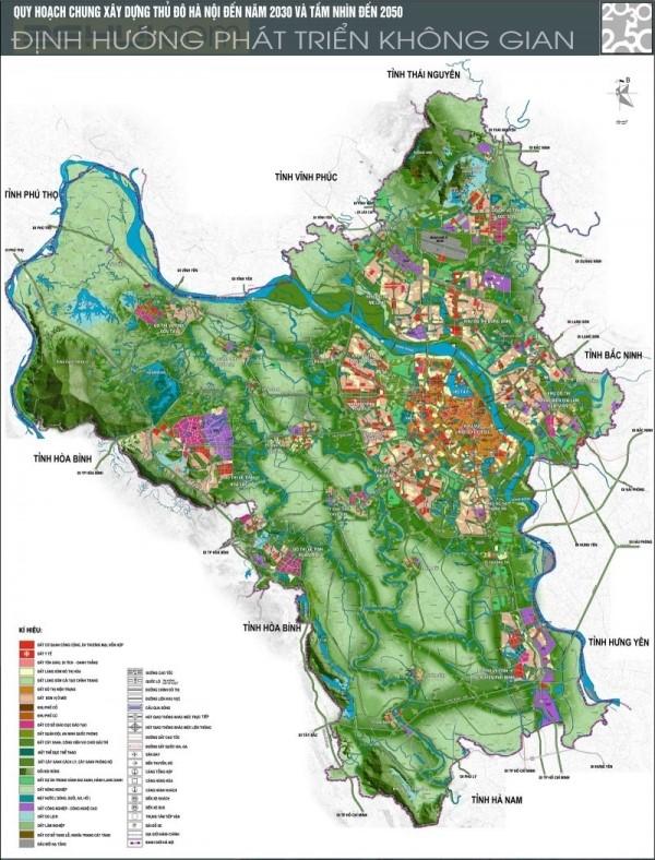 Quy hoạch quận Tây Hồ trong chương trình phát triển thành phố Hà Nội đến năm 2030