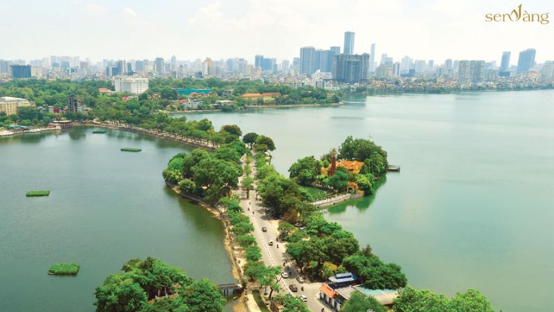 Quy hoạch quận Tây Hồ trong chương trình phát triển thành phố đến năm 2030