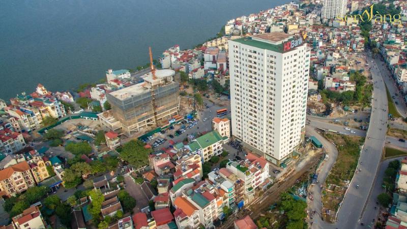 Đấu giá 50 m2 tại quận Tây Hồ, Hà Nội, giá khởi điểm 3,8 tỷ đồng