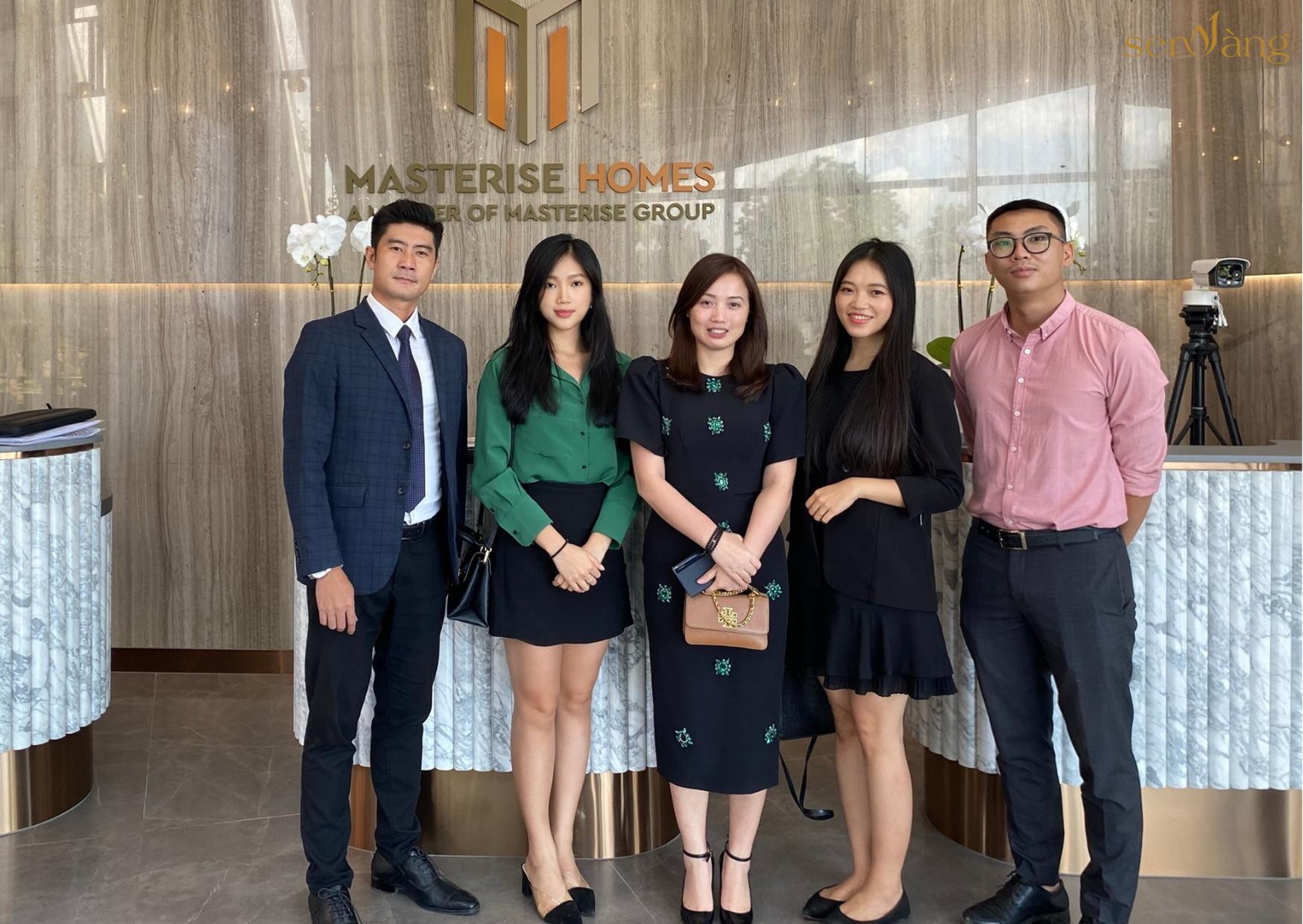 Buổi gặp gỡ giữa Team điều phối và Mr. Đỗ Trung Dũng – Quản lý Kinh doanh đại lý dự án Masteri West Heights